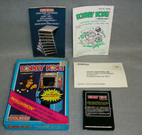 Intellivision Video Game Donkey Kong Nintendo Complete in Box w/Instructions CIB