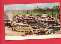 NASHVILLE TN BOATS ON THE CUMBERLAND SHEPARDSON WILL LaGRANGE INDIANA   POSTCARD