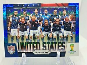 2014 Panini Prizm World Cup UNITED STATES Team Photo Blue 195/199