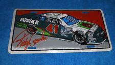 NASCAR - #41 Ricky Craven 1995 License Plate - NEW, Sealed
