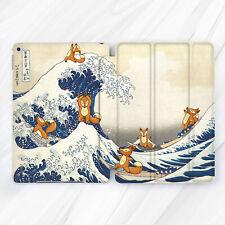Yoga Fox Kanagawa Wave Girl Case For iPad Pro 9.7 10.5 11 12.9 Air Mini 2 3 5
