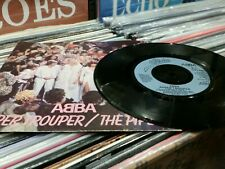 "2 ABBA 7"" SINGLES - THE WINNER TAKES IT ALL/Super Trouper"