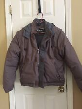 Mens Down Jacket With Hood Small