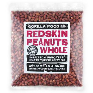 Gorilla Food Co. Redskin Peanuts Whole - 200g-6.4kg (Great value £ per 1kg)