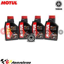 TAGLIANDO OLIO + FILTRO MOTUL 7100 10W30 YAMAHA 1000 YZF R1 2003