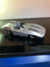 2002 HOT WHEELS 1957 1:64 Chevrolet Corvette Stingray in Silver GMTM Malaysia