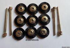 Rueda suelta Joyeros 9X, 2X2.2, 2X3MM mandriles polishingtool Dremel & Foredom
