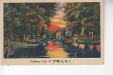 Twilight Greetings from Otisville  NY   60230