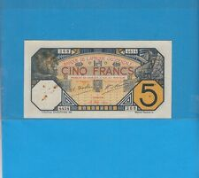 Banque de l'Afrique Occidentale Sénégal 5 francs DAKAR du 16 mai 1929