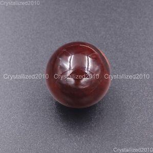 Natural Gemstone Round Ball Crystal Healing Sphere Massage Rock Stones 20mm Pick