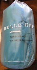"Belle Hop Lewis N Clark Lightweight Travel Blanket 7170 Blue 36"" X 50"" Blanket"