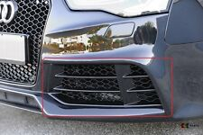 AUDI RS5 10-16 GENUINE FRONT BUMPER LOWER LEFT N/S GRILL BLACK 8T0807681F T94