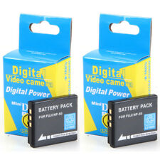2x Baterías NP-50 NP50 950mAh para Fuji FinePix F72EXR F300 EXR Real 3D W3