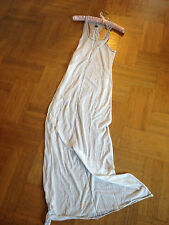 ZOE TEE'S Beach fourreau Dessous Robe Superfine Long Dress Taille 2 Blanche