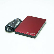 Seagate Backup Plus Slim Portable External Hard Drive USB 3.0 Enclosure RED
