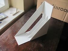 WHITE Heller Design Giotto Stoppino LP Record Album Holders Racks; 3 available