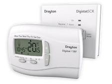 Drayton RF701 Digistat 3RF Wireless Programmable Thermostat -White