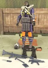 GI JOE 25th Anniversary 2008 blue Cobra Para Viper v1 army builder action figure