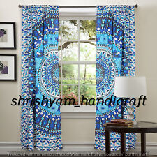 Ombre Art Room Door Wall Drape Window Curtains Decor Mandala Throw Tapestries