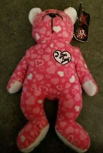 """""""I Love Lucy"""" II Bear Pink Heart Signature Series Classic Collection 4354/10000"""