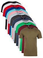 Hommes Unisexe Next Level Coton Uni Col Rond Manches Courtes T-Shirt S-4XL
