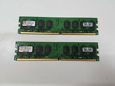 Kingston 2GB Kit (2X1GB) DDR2 Sdram DDR2-1066, CL7, KVR1066D2N7K2/0.0705oz