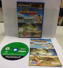 Game SONY Playstation 2 PS2 PSX2 PAL UK con SUB ITA - SEGA BASS FISHING DUEL -