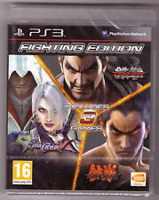 Fighting Edition: Tekken 6 & Tag Tournament 2 & Soul Calibur V [PlayStation 3]