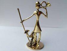 Art Déco Figurine, chasse, en laiton, Hagenauer
