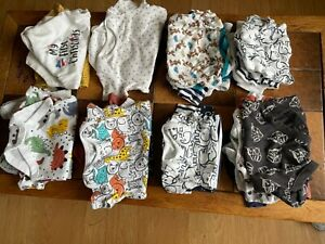 Bundle of 22 baby boy vests. Size newborn to 3-6 months in great condition
