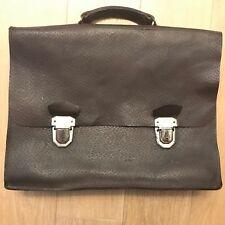 Ancienne Sacoche - Sac d'écolier - Années 1940 - Cuir véritable - Old school bag