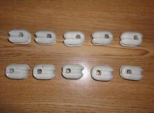 Weiß Keramisch Isolator Antenna Dipole Wire LOT of 10