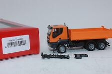 2612532-herpa- IVECO Trakker-camion da costruzione 6 x 6 Arancione Multicolor