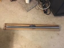 NOS 1975 1976 LINCOLN FRONT BUMPER CENTER HORIZONTAL PAD  W/ WHITE STRIPE