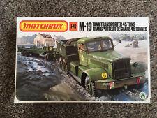 Matchbox M19 Tank Transporter 45 Tons
