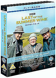 Last Of The Summer Wine - Series 9-10 - Complete (DVD, 2008, 3-Disc Set)
