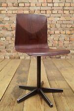 Vintage Pagholz Kinderstuhl Mid Century Design Schulstuhl 70er Thur op Seat # 10