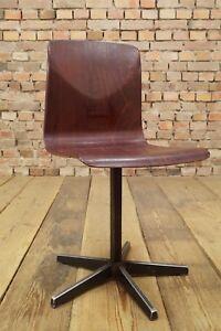 Vintage Pagholz Chair Mid Century Design Child's School 70er Thur Op Seat #10