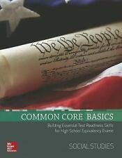 COMMON CORE BASICS SOCIAL STUDIES - MCGRAW HILL EDUCATION (COR) - NEW BOOK