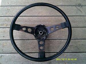 "hq hj hx lh lx holden torana monaro original ""thick spoke"" gts steering wheel"