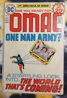 OMAC #1 One Man Army? (1974) - 1st OMAC, 1st Brother Eye - Kirby / Royer