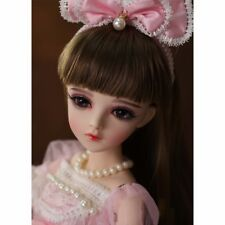 1/3 BJD Doll Ball Jointed Girl Gift with Face Make up Eyes Clothes Dress Outfits