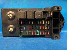 99 1999 FORD F250 F350 INTERIOR DASH FUSE BOX RELAY FUSEBOX F81B-14A067-AF