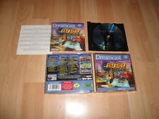 SAN FRANCISCO RUSH 2049 BY MIDWAY FOR SEGA DREAMCAST COMPLETE IN GOOD CONDITION