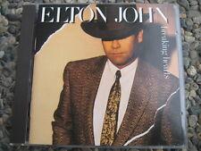 CD  Elton John  Breaking Hearts  First Print Germany  822 088-2  Train Motive