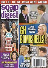 Soap Opera Digest Magazine - September 30, 2013 - General Hospital, Rena Sofer