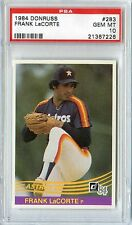 1984 DONRUSS FRANK LaCORTE #283 PSA 10 GEM MINT TOUGH LOW POP