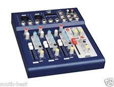 4 Channel Live Mixer USB Mixing console DJ& Karaoke Mixer with 48v Phantom Power