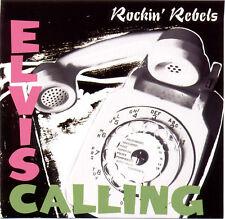 ROCKIN' REBELS 'Elvis Calling' Elvis Presley covers CD Tony Marlow rockabilly