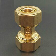 "Brass Fitting Straight Coupling Pex-al-Pex Tubing Compression 1/2"" ID   J0G"